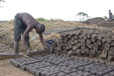Making bricks